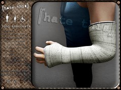 [ht+] long arm casts (Corvus Szpiegel) Tags: fall broken hospital this pain hurt long arm accident injury plaster ambulance medical cast doctor xray hate bone nurse wrist ht fiber medic fracture bandage brace splint injured ion immobile fibre ortho radius orthopedic immobilised ulna