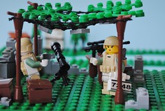 """Researching nature"" (Bruno VW) Tags: lego union rifle binoculars sniper spying global helmets germanic warfare sidan brickarms protips hcsr lolneukersma"