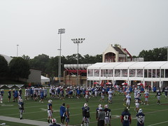 2012 Buffalo Bills Training Camp (Dougtone) Tags: newyork field football play bills stadium nfl quarterback upstate rochester practice receiver defense afc pittsford kicker trainingcamp punter linebacker offense lineman preseason runningback widereceiver nationalfootballleague buffalobillstrainingcamp stjohnfishercollege puntreturner 081212