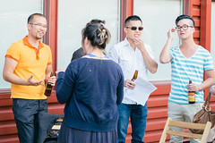 Latitude 53 Patio Party  Aug 16, 2012 (Alistair Henning) Tags: party summer film fuji august patio fujifilm neopan 53 provia latitude 2012 xpro1 vsco lat53 vscofilm