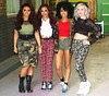 Jesy Nelson, Jade Thirlwall, Leigh-Anne Pinnock and Perrie Edwards of Little Mix at the ITV studios London, England