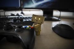 mine (Buzz_Lightweight) Tags: computer fun 50mm lights bokeh f14 xbox danbo andriod