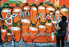 go! (alterna ) Tags: chile santiago muro love graffiti foto natural otros adolescente go nia segovia vegetarian cecilia natalia boba fotografia nias nati veg stg dibujos dibujo diseo muralla gusto mente 2012 ilustraciones diverso caceres vegetariano alterna identidad naranjo alternativa zanahorias entretencion blancoencalada hazte avespaa alternanati cuaquiera superboba alternaboba muromuralla