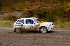 Nova (Chris McLoughlin) Tags: nova race action rally a77 vauxhallnova chrismcloughlin maltonforestrally andyforrest slta77 sonyslta77 francesrush