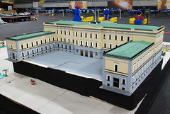 Other MOCs 4 (L@go) Tags: oslo norway lego anniversary royal palace arena telenor fornebu bygge landet slottet brikkelauget