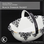 "Black Damask Basket <a style=""margin-left:10px; font-size:0.8em;"" href=""http://www.flickr.com/photos/94066595@N05/13690489883/"" target=""_blank"">@flickr</a>"