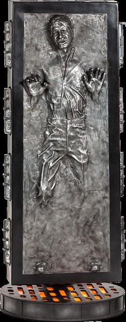 【販售資訊更新】全宇宙的獎金獵人都在找他!1:1 碳化韓索羅雕像終於推出啦!~