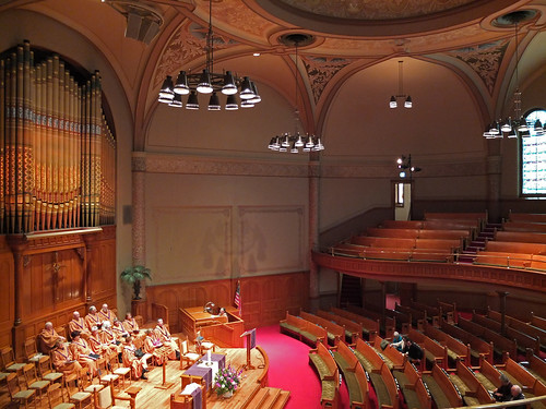 First Baptist Church, Portland Oregon. April 6 2014.