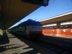 INV E444.010 + E656.439 a Torino Porta Nuova (simone.dibiase) Tags: e444 r e444r intercity inter city ic torino porta nuova lingotto ferrovie dello stato italiane trenitalia invio inv 010 e656 439 train treno 2016