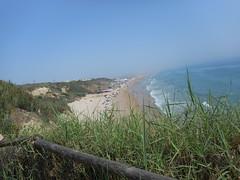 Conil de la Frontera (Cdiz) (NoeliaFranco) Tags: sea people costa beach mar sand oleaje playa personas arena vegetation coastline swell vegetacinespinal