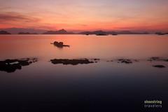 Under a Sunset Sky (engrjpleo) Tags: sunset sea sun seascape beach water landscape coast seaside philippines shore elnido palawan waterscape corongcorongbeach