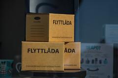 Time to move? (Infomastern) Tags: box ystad movingbox flyttlda