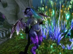 My Gardan (Syren Nightfire) Tags: garden glow secondlife trap gauze bellaza catwa cerridwenscauldren