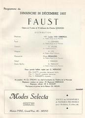 FAUST, MONS, 1937 (Operabilia) Tags: opra mons programme faust basse monnaie baryton gounod tnor renaudin thtreroyaldelamonnaie georgesvillier lucienvanobbergh claudepascalperna hectorgrimard renlits londubressy