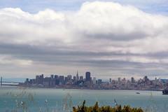 Views of the Bay. (jerimiah1martinez) Tags: sanfrancisco bridge sky weather clouds fun island bay hike financialdistrict views bayarea across westcoast shaps transamericabuilding bayviews