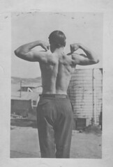 Fred Prosser, ca. 1910, Goldfield NV (dougsmi) Tags: beefcake goldfield