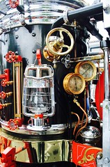 """America "" (bigsassysmurf) Tags: america guages fireengine oillamp 1902 coalfiredsteamengine americansteamengineco"