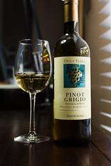 Della Flora Pinot Grigio (Pamela Greer) Tags: wine wines pinotgrigio whitewines dellaflora