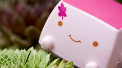 Strawberry Slice (Jam-Gloom) Tags: cute japan toy toys tofu olympus kawaii omd japanesetoy hannari toyphotography em5 cutetoy hannaritofu toyography kawaiitoy olympusomd olympusomdem5