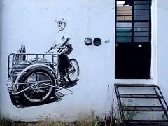 Helados (-jamesstave-) Tags: street house man building art wall mexico pared graffiti vendedor casa calle arte grafiti edificio icecream oaxaca vendor hombre helados iphone5s