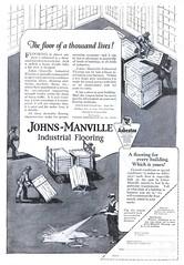 Johns-Manville - 19230929 Literary Digest (Jon Williamson) Tags: history vintage advertising ad vintageadvertising vintagead vintascope