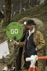 LWC_3450 (Man with a Hat) Tags: northnorfolkrailway dadsarmy weybourne nnr