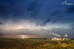 Lightning through the Cloud (Gavmonster) Tags: longexposure summer sky usa storm rain weather clouds america landscape nikon nebraska unitedstates wind wideangle stack land thunderstorm lightning thunder stormchasing supercell stormchaser 1024mm d7000 nikond7000 gswphotography