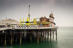 Fun fair at the pier (gljp411) Tags: sussex brighton unitedkingdom funfair palacepier