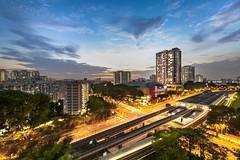 Sapphire Citrine (tterencechung) Tags: landscape singapore cityscape mrt hdb urbanscape angmokio amk exploresingapore