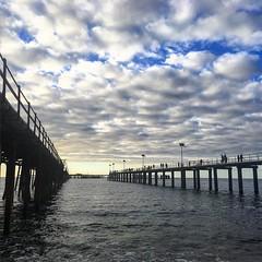 Big jetty no fish. #southaustralianbeaches #jettiesofsa #southaustralia #australiagram