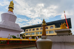 Do-Drul Chorten Stupa (Nitya...) Tags: 1685 2016 d5200 nikkor nikon gangtok june sikkim travel dodrul chorten stupa travelphotography sikkimtourism india tourism architecture nitya nitya800gmailcom photography flickr