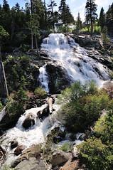 Lower Eagle Falls View (J-Fish) Tags: california waterfall eaglecreek eaglefalls emeraldbaystatepark lowereaglefalls d300s 1685mmf3556gvr 1685mmvr