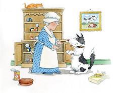 Amended Nursery Rhyme4 (Little Boffin (PeterEdin)) Tags: dog comedy poem mother bone doggie hubbard nurseryrhyme richarddigence