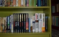 Dick Francis, Colin Forbes. (Phineas Redux) Tags: scotland bookshelf bookshelves kilmarnock ayrshire colinforbes dickfrancis charityshops