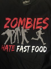 zombies hate fast food (timp37) Tags: urban food shirt t fast tshirt hate tee pipeline zomibes