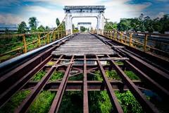 Sultan Ismail Suspension Bridge, Kuala Krai (sydbad) Tags: bride sony kelantan kualakrai sonya7 ilce7 sel2470z sultanismailsuspensionbridge