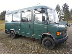 MB 711D (Vehicle Tim) Tags: truck mercedes police policecar mb polizei transporter policetruck einsatz polizeiwagen polizeifahrzeug