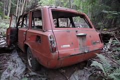 Abandoned (Ståle Meyer) Tags: lada abandoned car cars lost woods old exploration akershus norge norway