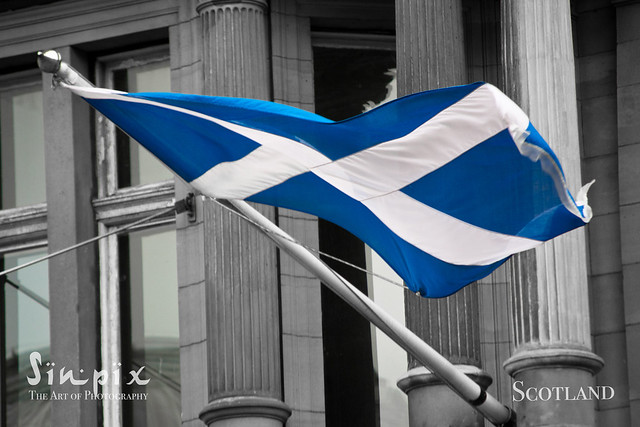 The Saltire (Scotlands flag)
