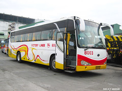 Victory Liner 8003 (Next Base II ) Tags: bus phoenix yellow model long king nissan shot y diesel united engine location victory number 49 xiamen chassis seating inc configuration liner capacity 2x2 kinglong 6118 8003 coachbuilder xmq pe6t lklr1hsh86b6