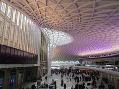 UK - London - King's Cross Western Concourse (JulesFoto) Tags: uk england london architecture trainstation kingscross