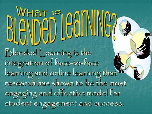 "Powerpoint Slide:  ""Blended Learning Exp by Ken Whytock, on Flickr"