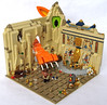 Jack Lightning's Narrow Escape (Imagine™) Tags: walter cat toy toys lego tomb egyptian minifig moc fabuland foitsop imaginerigney 2012mocathalon