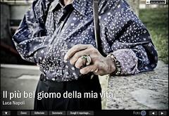 """""""il pi bel giorno della mia vita"""" su WJ48 (Luca Napoli [lucanapoli.altervista.org]) Tags: pubblicazione lucanapoli ilpibelgiornodellamiavita rosariaegiacomo witnessjournal48"""