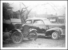 1922  Bob  22 Model T Touring - 22 Coupe in the background  1947  PHOTO (carlylehold) Tags: opportunity robert mobile t 22 photo model background email smartphone join 1922 tmobile coupe touring 1947 keeper signup haefner carlylehold solavei haefnerwirelessgmailcom