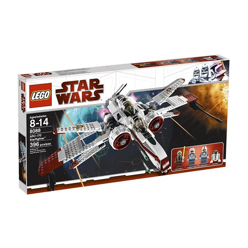 LEGO 乐高 星球大战系列 ARC-170战机8088 .24