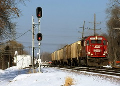 Hello Norma (The Mastadon) Tags: road railroad chicago train illinois midwest rail railway trains il transportation locomotive railroads chicagoland douchebag flatlander midwestern