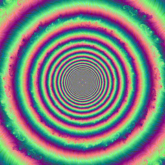 Oeil de cible (Juvabien39) Tags: trip abstract color art love stone digital french colorful experimental peace decay pop illusion donut round math fractal why trippy psychedelic shape 70 60 psy mental