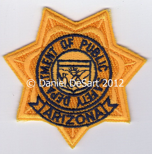 Arizona Department of Public Safety (Badge Variant 1)
