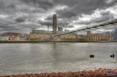 The Tate (nmcdonald83) Tags: city sky building london thames nikon 1001nights citycentre hdr 3xp photomatix 18105mm d7000 1001nightsmagiccity